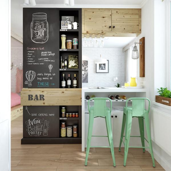 chalkboard for the modern home island woman magazine