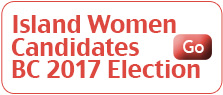 Island Women Candidates BC 2017 Election